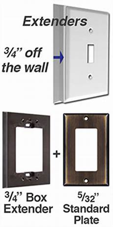 deep switch plate cover thick outlet wall plates