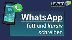 Levato De Fett Und Kursiv Schreiben In Whatsapp Schrift