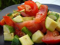 zucchini and tomato salad recipe food