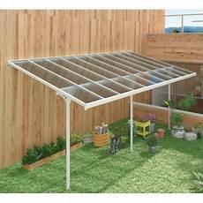 copertura terrazzo trasparente pergola x metal regolabile alluminio laccato bianco 3 05x6 18m