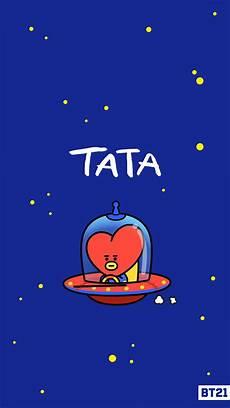 Wallpaper Tata Bt21