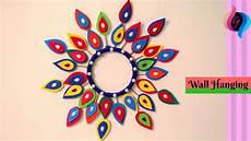 Home Decor Ideas Using Paper by How To Make Wall Hanging Craft Ideas Wall Hanging Paper