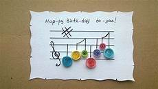 how to make a happy birthday greeting card diy crafts