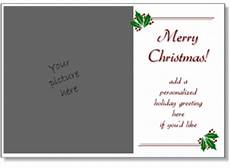 christmas card templates add your own photo printable christmas cards flat cards 5x7
