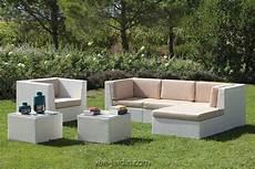 Salon De Jardin Moderne En Osier Tress 233 Blanc Ou Noir New
