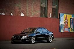Subaru Impreza Sti Stance Black