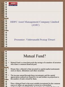 presentation hdfc mutual fund mutual funds