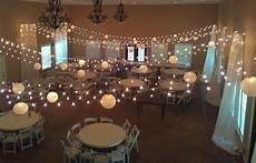 hanging lights for wedding