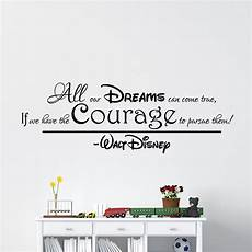 Sticker All Our Dreams Can Come True Walt Disney Design