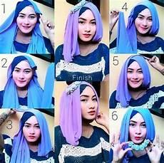 12 Tips Dan Kreasi Bentuk Model Jilbab Untuk Pipi