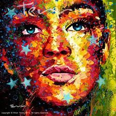 everybody famous acrylic spray paint canvas 160cm