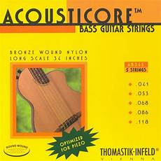 Thomastik Ab345 Acousticore 5 String Set High End Bass