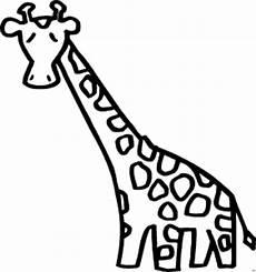 Malvorlagen Giraffen Gratis Giraffe Mit Langem Hals Ausmalbild Malvorlage Comics