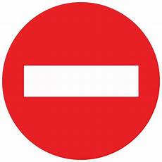 sens interdit panneau signalisation panneau d interdiction sens interdit