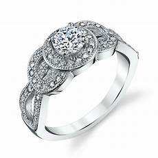 925 sterling silver dainty cz engagement wedding ring