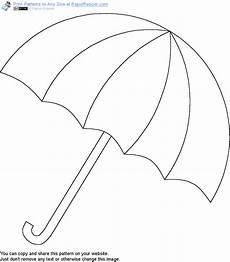 Gratis Malvorlagen Regenschirm Craft Free Umbrella Pattern Get It And More Free Designs At