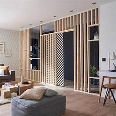separation de pieces en bois guide pour offrir plus d intimit 233 au salon une paroi en