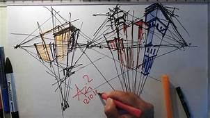 Fast Sketch  Three Point Perspective YouTube