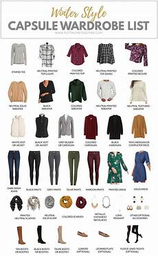 Winter Capsule Wardrobe 2019 Putting Me Together