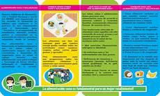 triptico alimentaci 243 n sana y balanceada pine by mined nicaragua issuu