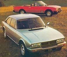 peugeot 505 coupé peugeot 504 coupe ran when parked