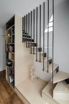 deco pour escalier gris beige escalier barandales de escaleras