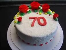 torte zum geburtstag fondant torte zum 70 geburtstag