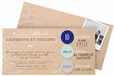 invitation 10 ans de mariage original invitation anniversaire de mariage pour c 233 l 233 brer vos noces