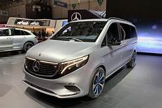 voiture 8 place live from geneva 2019 mercedes eqv concept with 8 seats