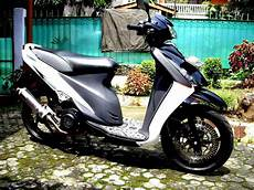 Modif Warna Motor Spin by Suzuki Spin Modifikasi Trail Thecitycyclist