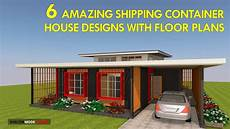 Container Als Haus - best 6 modern shipping container house designs with floor