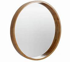 buy heart of house holt deep round wall mirror oak effect at argos co uk your online shop