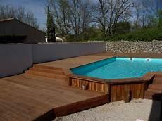 pose de piscine hors sol plage bois piscine hors sol vente et pose de parquet en