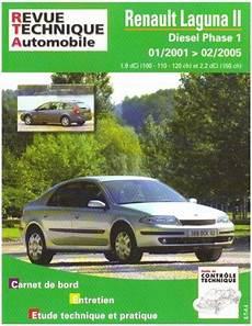 Revue Technique Renault Laguna Ii Phase 1 Diesel Rta 653 1