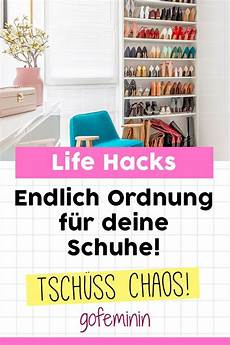 Chaos Ad 233 6 Tricks F 252 R Mehr Ordnung Im Schuhschrank
