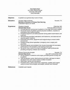 nurse resume template edit fill sign online handypdf