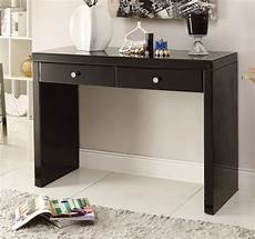 my console black glass mirrored console hallway dressing table