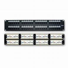 110 patch panel wiring diagram 48 port cat 6 110 type patch panel rackmount american teledata store