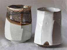 bicchieri in terracotta coppia di bicchieri in terracotta meoto yunomi
