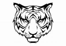 Gambar Kepala Harimau Tiger Vector Coreldraw Cdr