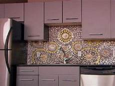 Mosaic Tiles Kitchen Backsplash How To Create A China Mosaic Backsplash Hgtv