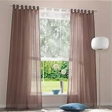store gardinen 1 st gardine vorhang store 140 x 175 schoko braun