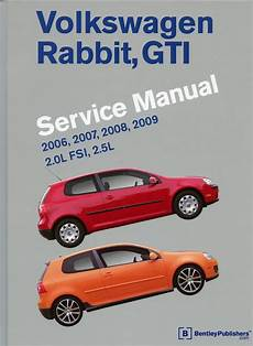 download car manuals 2007 volkswagen rabbit spare parts catalogs volkswagen rabbit gti a5 repair manual 2006 2007 2008 2009