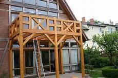 Balkon Aus Holz Balkongestaltung
