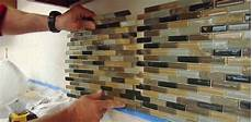 How To Tile Kitchen Backsplash How To Install A Mosaic Tile Backsplash Today S Homeowner