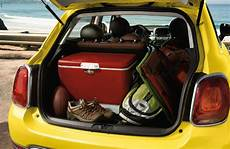2017 fiat 500x passenger and cargo space