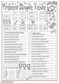 worksheets present tense 19016 present simple exercise you can do the exercises or the worksheet as pdf 購物清單