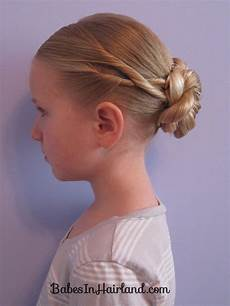 criss cross twists into a bun hairstyles hair styles