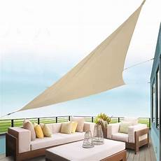 sonnensegel dreieckig sonnensegel dreieckig 415x415x415cm natur 100 polyester