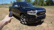 2019 ram 1500 limited start up walkaround test drive and review youtube